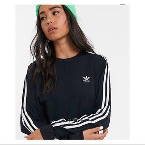 adidas Dresses - Adidas Originals 3 Stripe Dress in Black